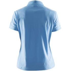 Craft Classic Polo Pique Shirt Women aqua